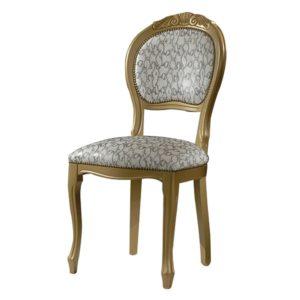 sedia barocco intagliata